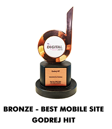 Bronze - Best Mobile Site Godrej HIT